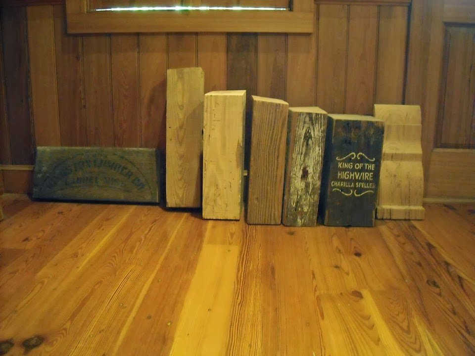Reclaimed Antique Heart Pine Beams