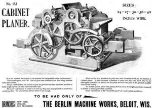 Berlin Machine Works Co Ad