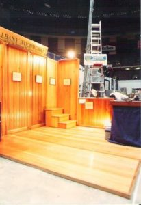 New Orleans Home & Garden Show Albany Woodworks Display