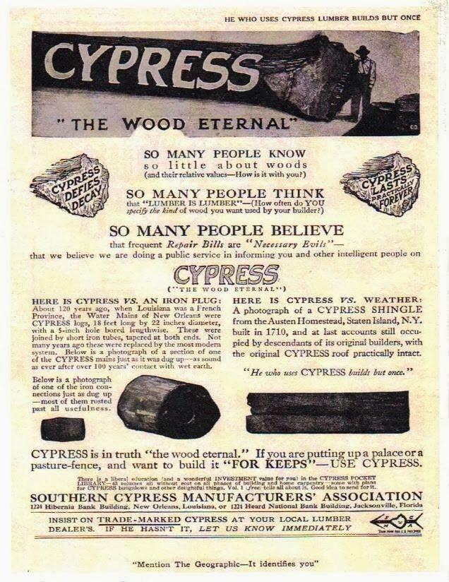 Cypress Water Mains Ad