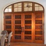 antique cypress door