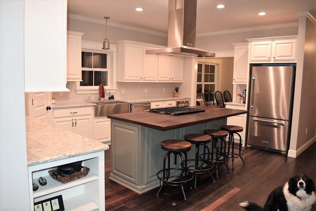 kitchen design dirty top pine
